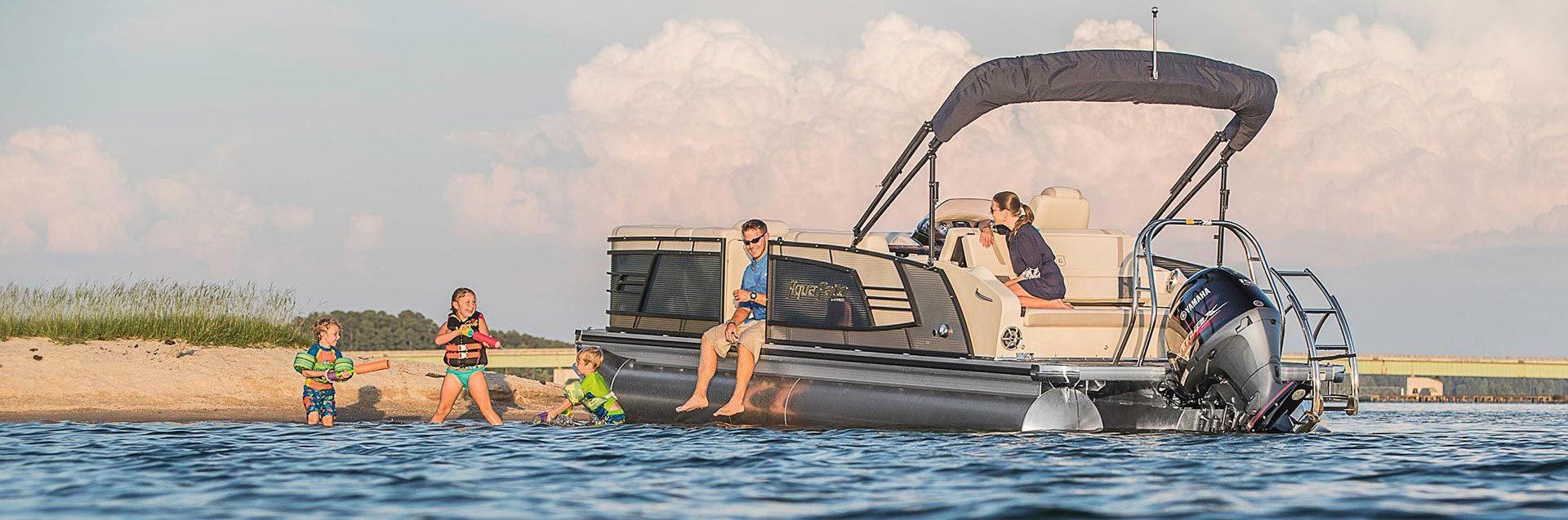 476_197_Aqua Patio 235 Elite Pontoon Boat 1